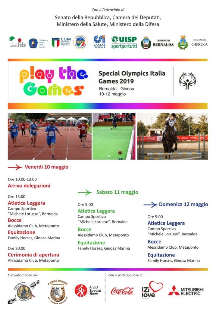play the games 2019 basilicata